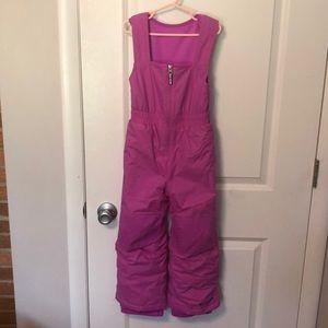 Columbia purple XXS girls snow pants